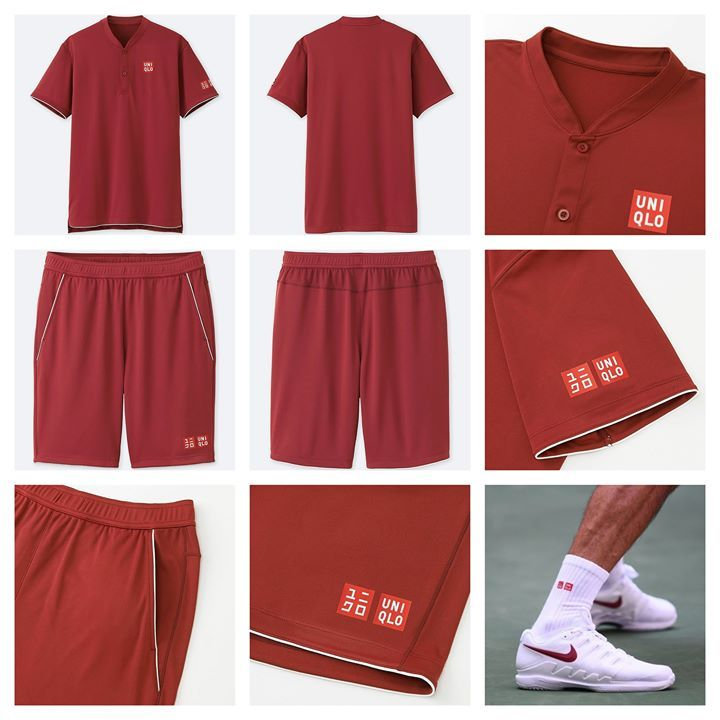 d9e8ae13 Roger Federer's US Open Outfit for 2018. Why do Uniqlo's product images  look like ones people take at home if they're selling on eBay?