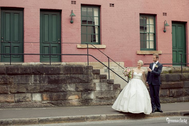 Ash and John's Vintage Wedding in The Rocks, Sydney