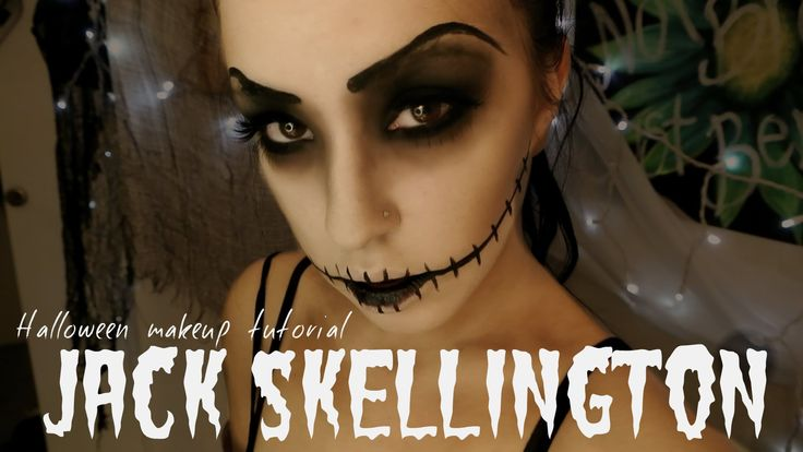 Jack Skellington | Halloween Makeup Tutorial
