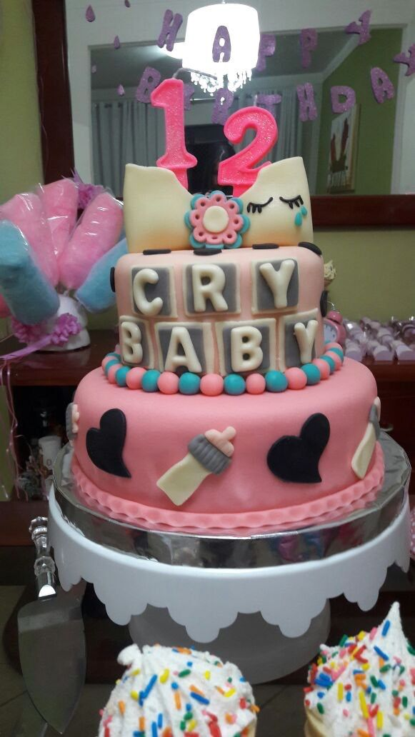My Melanie Martinez Inspired Cake  E2 99 A1 M E L A N I E M A R T I N E Z In 2018 Pinterest Melanie Martinez Melanie Martinez Birthday And Cake