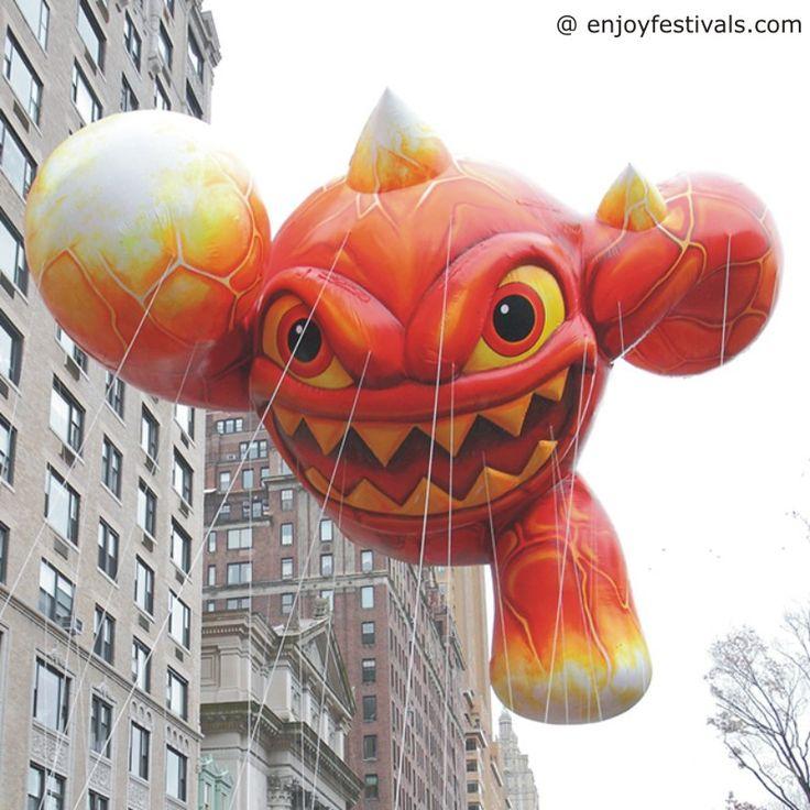 Eruptor Balloon - Macy's Thanksgiving Parade 2016