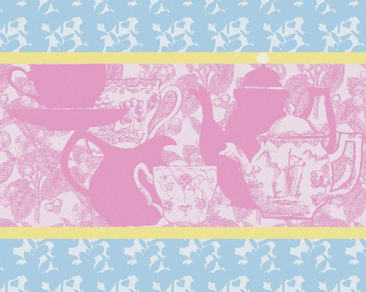 Tea Pot Pink Placemats