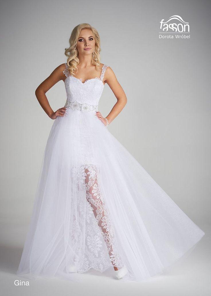 Gina suknia ślubna
