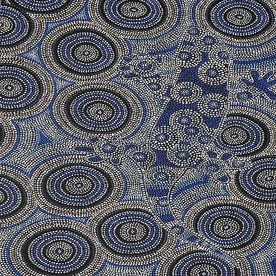 aboriginal-painting-gekco-art-print-on-canvas-by-jane-crawford-100cm-x-100cm