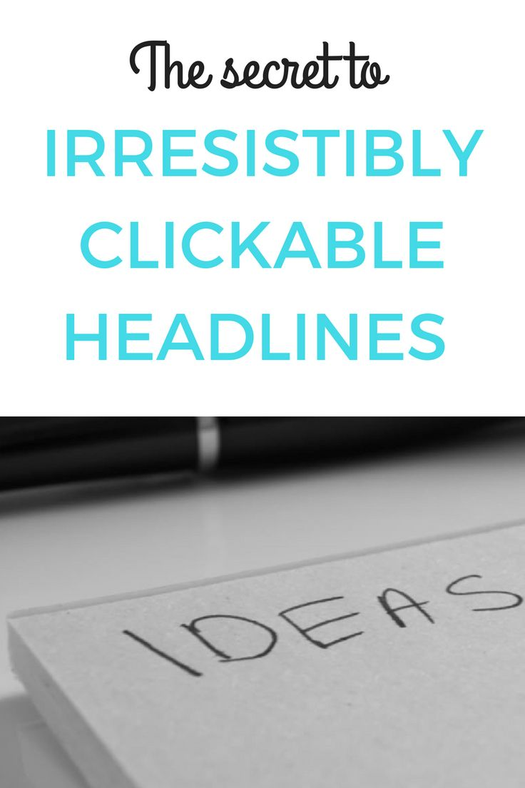8 out of 20 people will read your headline but only 2 will click. Here's how to hone your headline writing skills.