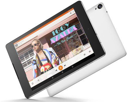 "Google Nexus 9 Tablet (8.9-Inch, 16 GB, Black)  Google Nexus 9 Tablet (8.9-Inch, 16 GB, Black)                      At a Glance:     A sweet new take on Android - Android 5.0 Lollipop   8.9"" IPS LCD display with 4:3 aspect ratio constructed from Gorilla Glass 3   Dual front-facing speakers with HTC BoomSound   8MP rear camera – 1.6MP front camera    64-bit NVIDIA Tegra K1 Dual Denver @ 2.3GHz CPU   Quad-band GSM, CDMA, Penta-band HSPA, LTE    Micro-USB 2.0   3.5mm audio           Des.."
