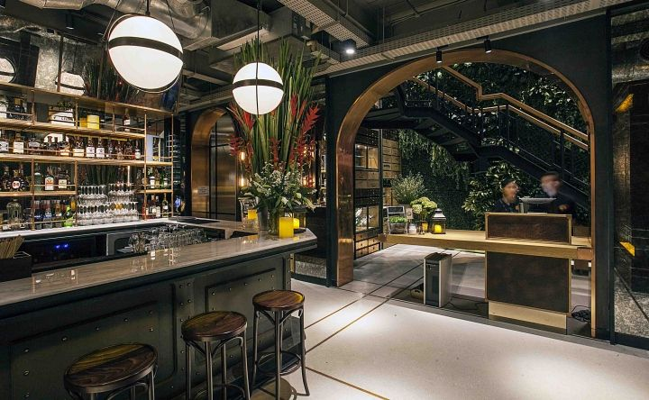 Hurricane's Grill Restaurant by Metaphor Interior, Jakarta – Indonesia » Retail Design Blog