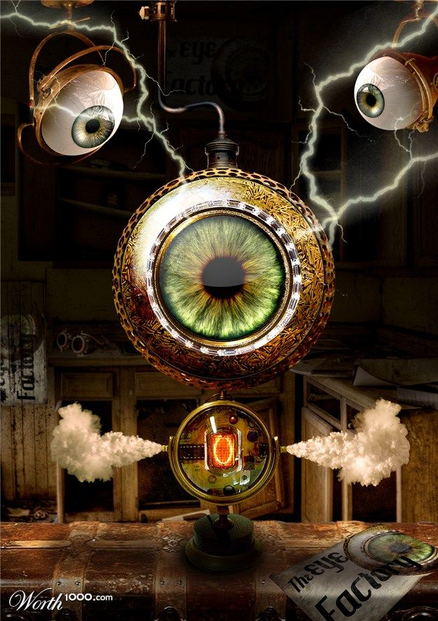 steampunk wallpaper eye - photo #25