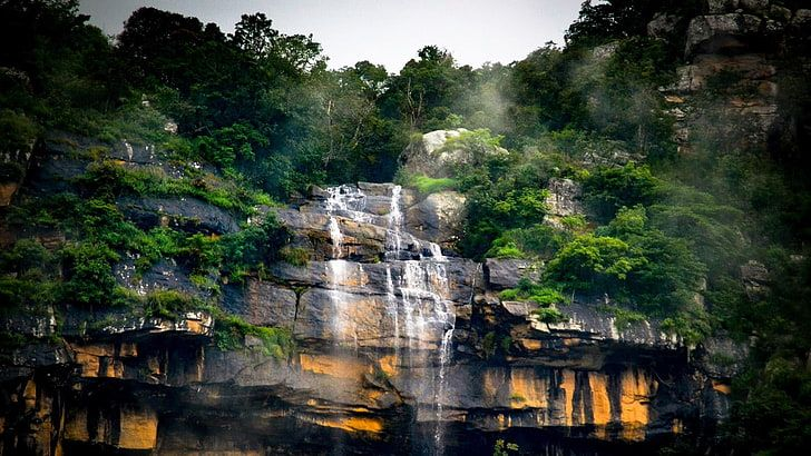 Hd Wallpaper Waterfall Photography India Nature Ooty Plant Tree Beauty In Nature Wallpaper Flare Waterfall Photography Waterfall Nature Wallpaper
