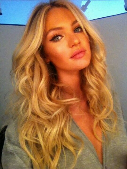 Candice swanepoel victoria's secret angel.  Definitely a WARM SPRING shaded Golden Blonde