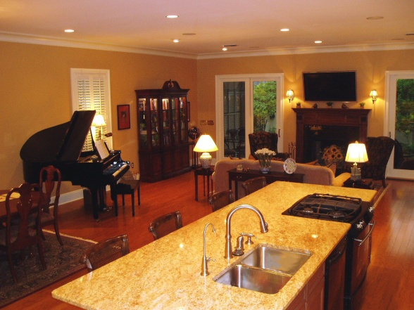 appealing living room dining kitchen combo | 51 best images about kitchen living room combo on ...
