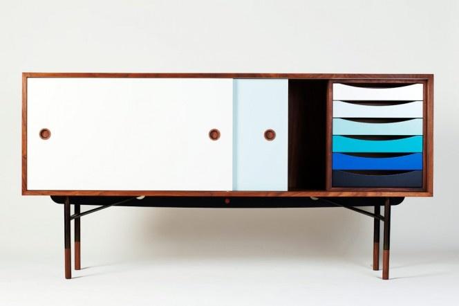 Buffet par Finn Juhl - Edition One Collection // © Galerie Triode