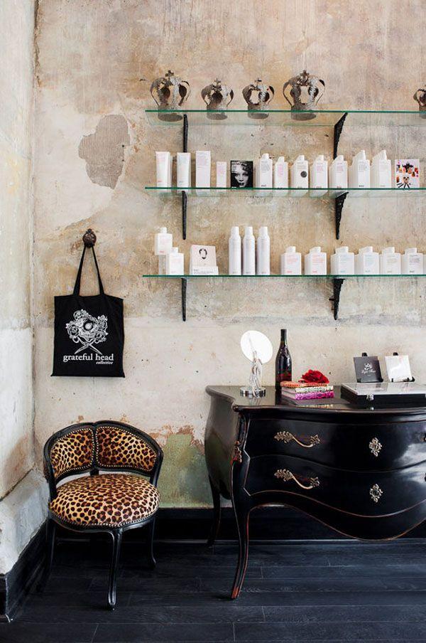 Vintage chic blog decoraci n vintage diy ideas para - Ideas para decorar una peluqueria ...