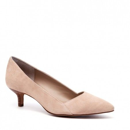 Women's Tan Suede 1 3/4 Inch Kitten Heel Pump   Desi by Sole Society - 305 Best Cute Shoes Images On Pinterest Shoes, Flat Shoes And