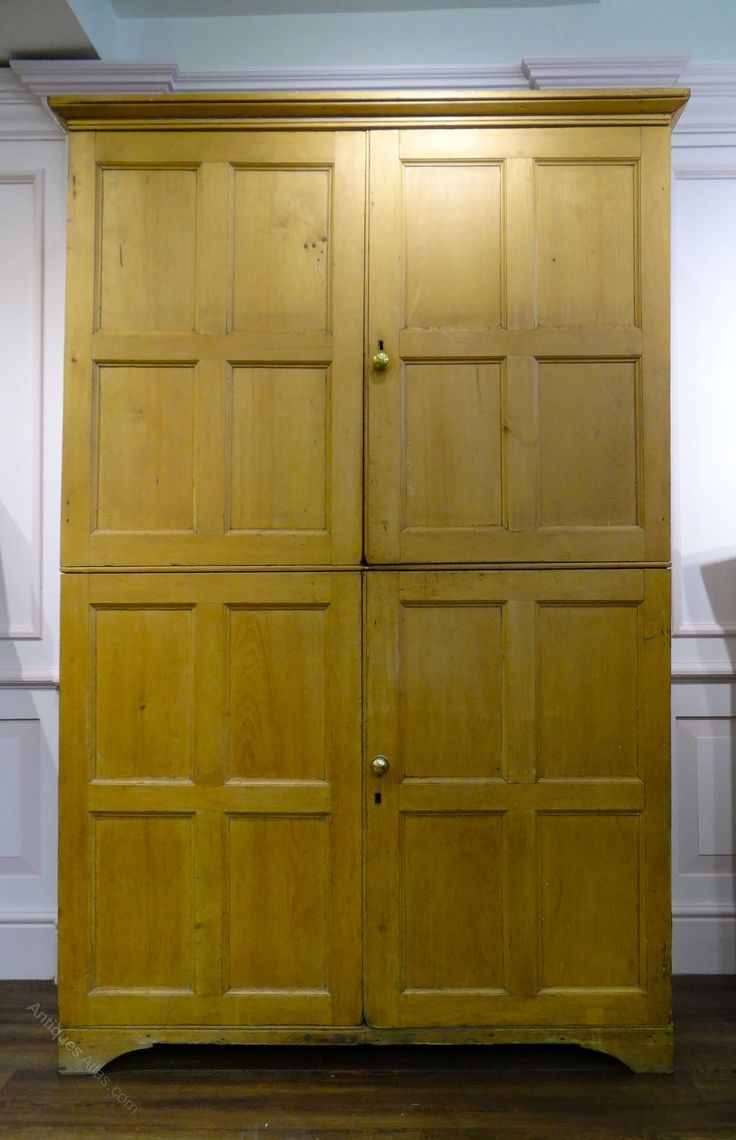 Pine Kitchen Cupboard Doors 17 Best Images About Housekeepers Cupboards Antique On Pinterest
