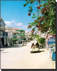 San Pedro Street .... Golf carts and dirt roads?!? I'm in!!!!!