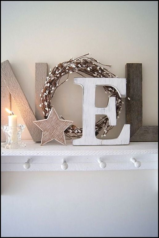 christmas words decorations