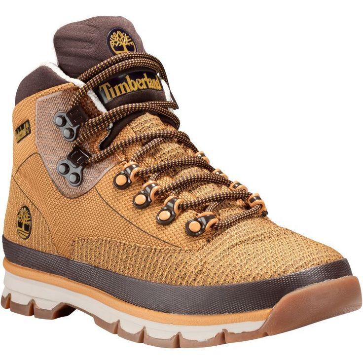 Timberland Men's Euro Hiker Jacquard Hiking Shoes, Wheat