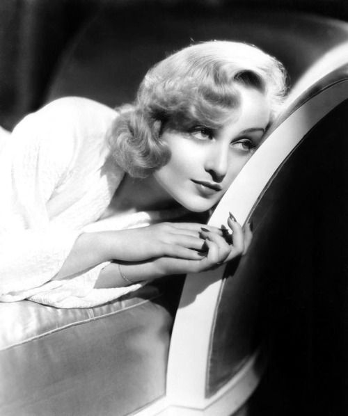 Carole Lombard by Eugene Robert Richee, 1934.
