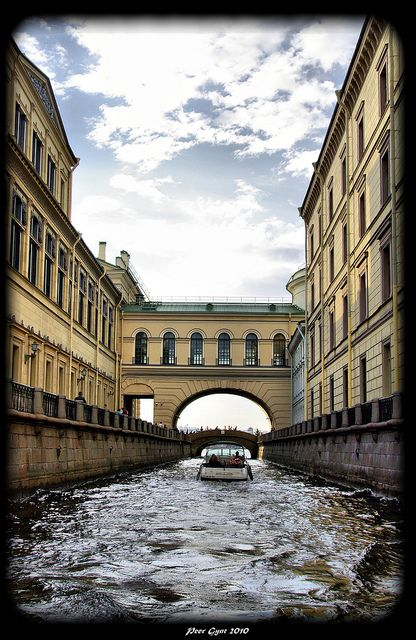 The Winter Canal, St. Petersburg, Russia