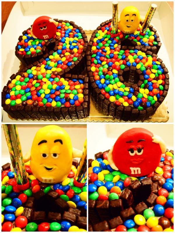 Tort M&Ms
