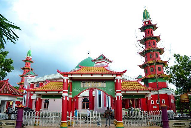 Masjid Cheng Hoo Mosque in Palembang