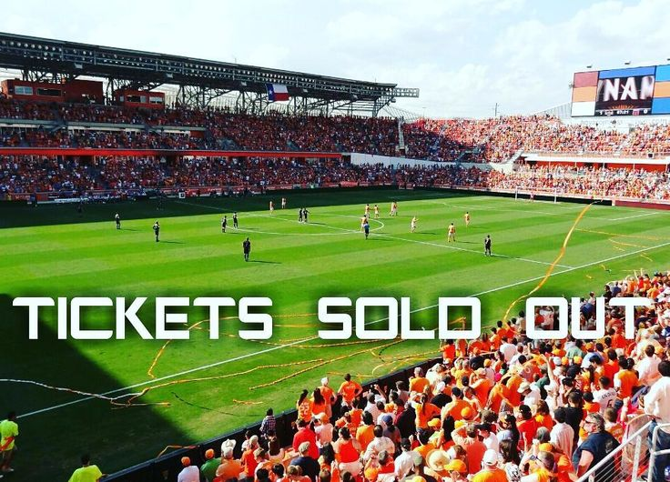 TICKETS SOLD OUT! Yeah u read that right. Tickets have all been sold out for the first leg of the Western Conference Finals between Houston Dynamo and Seattle Sounders which will take place in Houston. There are only some standing room tickets left and secondary market tickets.