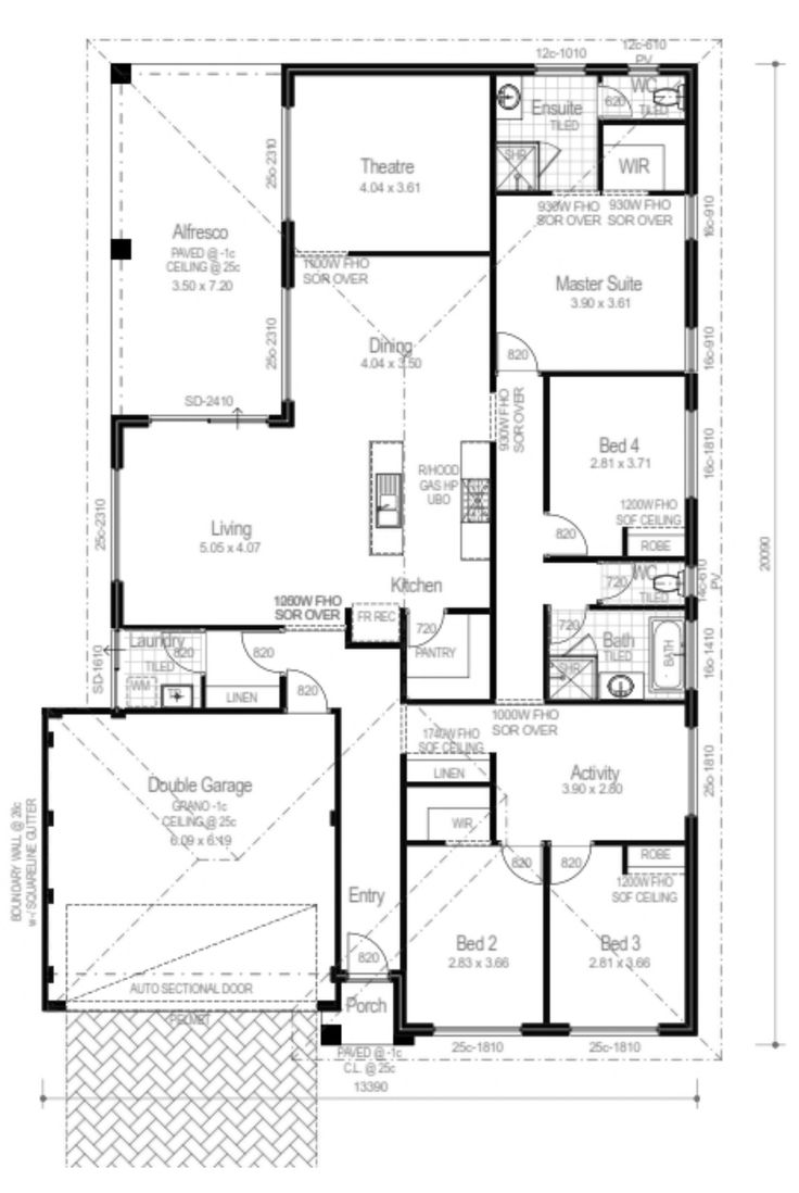 7 best House Plan - 15m images on Pinterest | Blueprints for homes ...