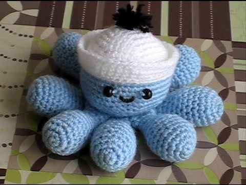 Amigurumi Octopus (full tutorial) - pattern in the comments