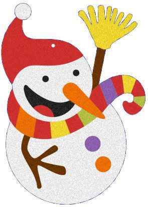 Album: Baby addobbi di Natale - Disegno: Il pupazzo