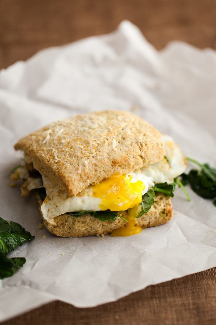 1367 best super sandwiches images on pinterest sandwich recipes fried egg biscuit sandwich with garlicky greens nvjuhfo Choice Image