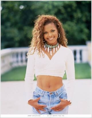 Janet Jackson-so many transformations but this is one I have always liked. I'm guessing early 90's