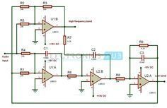 Active Crossover Circuit Diagram