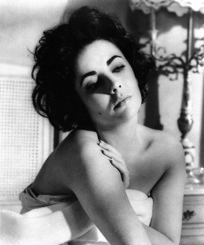 Elizabeth Taylor, taken during the filming of Butterfield 8.