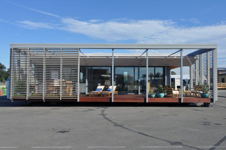 The SURE House, designed by Stevens Institute of Technology, can withstand floodwaters up to five feet, and is the Hoboken, N.J.-based team's response to Hurricane Sandy.