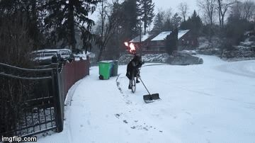 Darth Vader unicycling with bagpipes o' fire and shoveling snow.  Your argument is invalid.