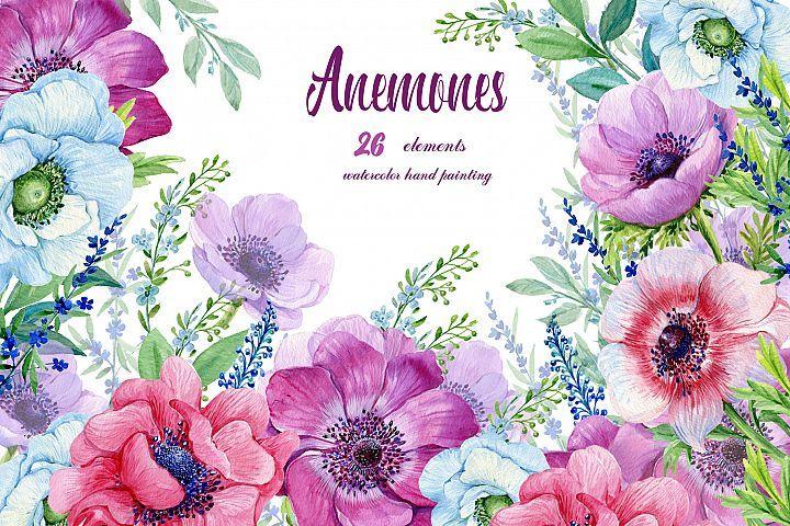Purple Flower Designs Watercolor Cip Art Lavender Etsy In 2020 Purple Flowers Wallpaper Watercolor Flowers Watercolor Flowers Paintings