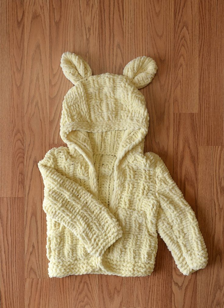 Free Pattern Friday! Today, we have two new patterns for baby. The Little Cub Hoodie in Bella Chenille and the It's A Party! Onesie in Bella Chenille Multi.