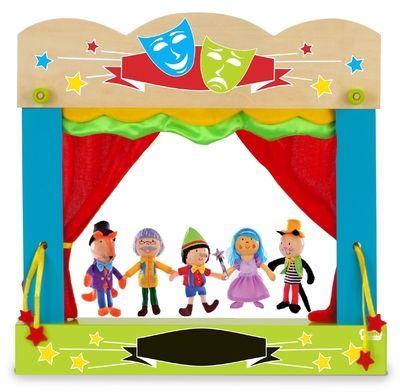 Pinocchio - Finger Puppets - Memorable Toys Boutique