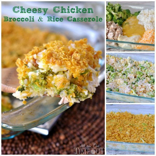 Cheesy Chicken, Broccoli, and Rice Casserole | 24 Easy Meals You Can Make With Rotisserie Chicken