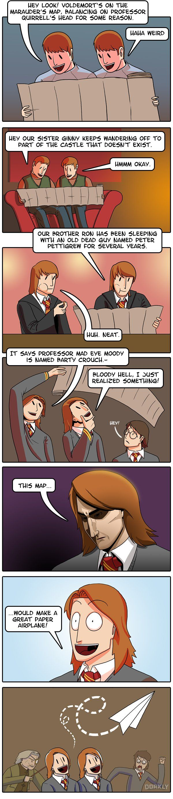 Why the Weasley twins are the dumbest characters in Harry Potter.