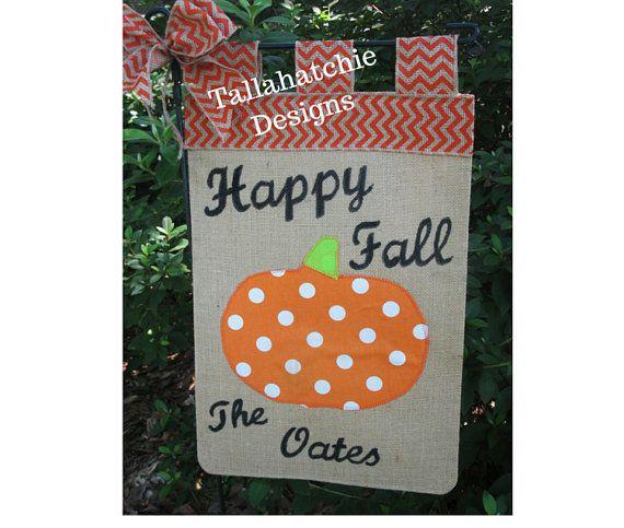 FLASH SALE TodayFall Garden Flag Pumpkin by TallahatchieDesigns