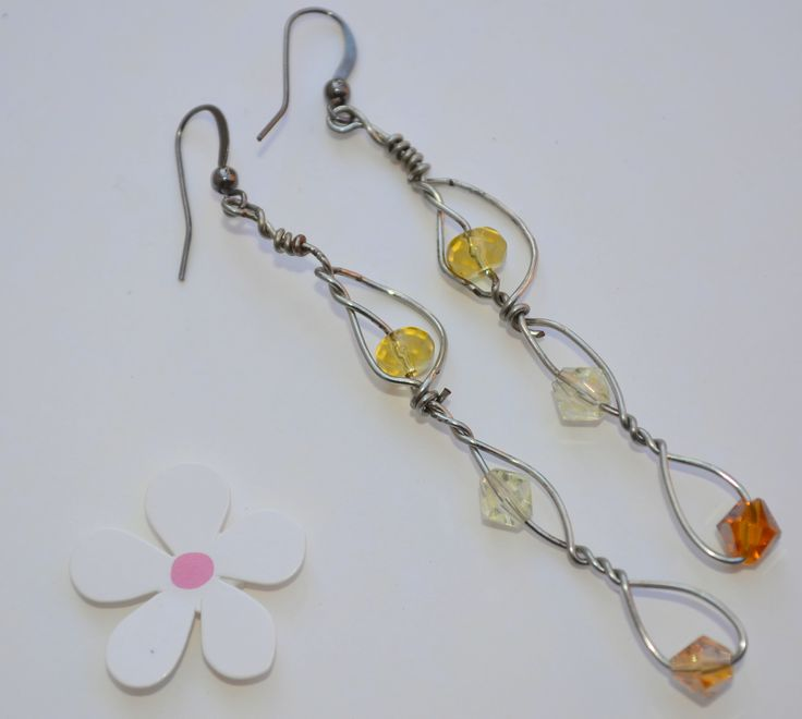 46 best Wire Earrings-From Jk Designs images on Pinterest | Wire ...