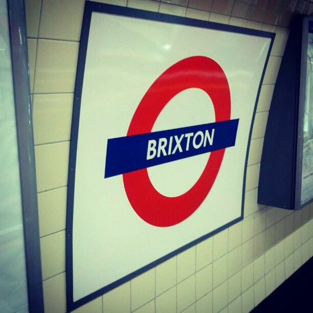 Brixton London Underground Station in Coldharbour, Greater London