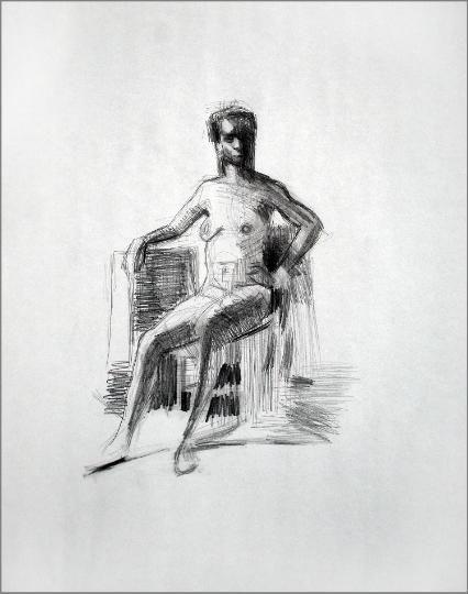Dawn Hunter: Figure Drawings page 2