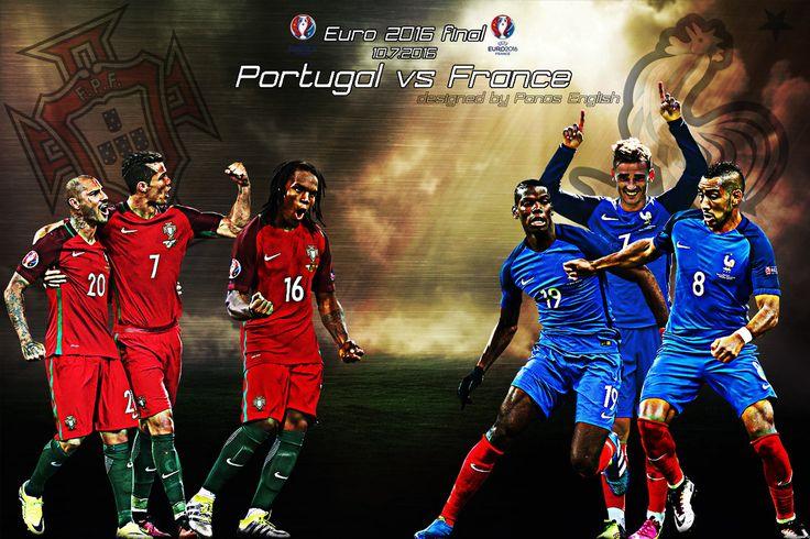 France Vs Portugal by PanosEnglish.deviantart.com on @DeviantArt