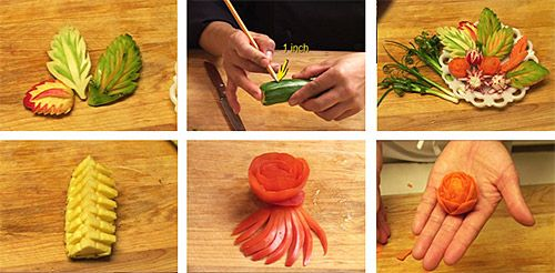 Easy Holiday Plate Garnishes for Festive Table Settings » Temple of Thai Food