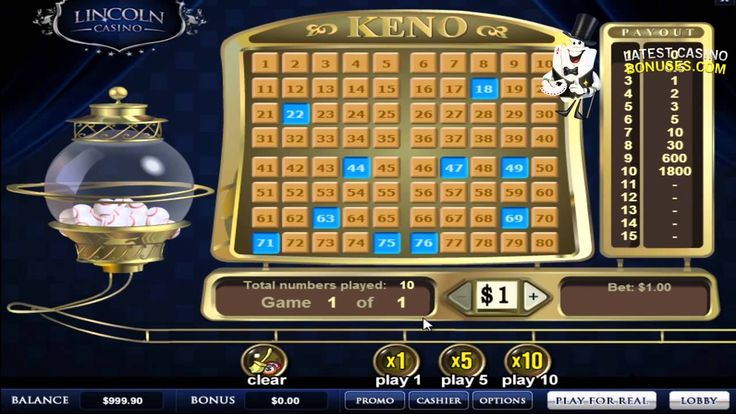 Lincoln Casino video review by Latest Casino Bonuses