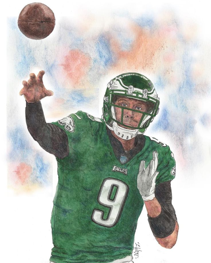 First image in my Super Bowl 52 Collage is done... St Nick waterolor colored pencils pen & Ink. #superbowl #philadelphiaeagles #eagles #eaglesnation art #artist #artwork #draw #drawing #painting #watercolor #sport #artoftheday