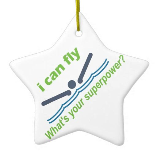 Great gift for the butterfly stroke swimmer! Customizable Ornaments. Add name, team, date, whatever!